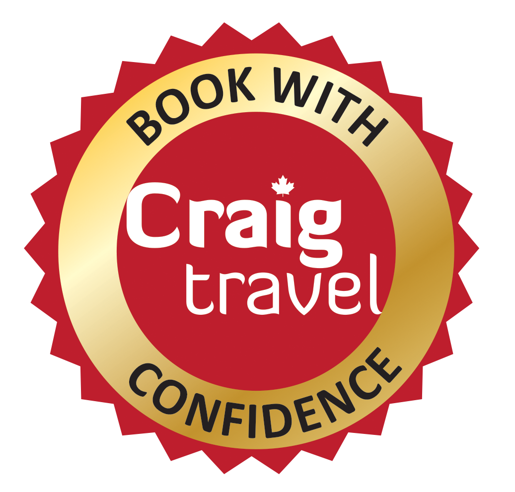 Craig Travel Book with Confidence. Links to Book with Confidence policy.