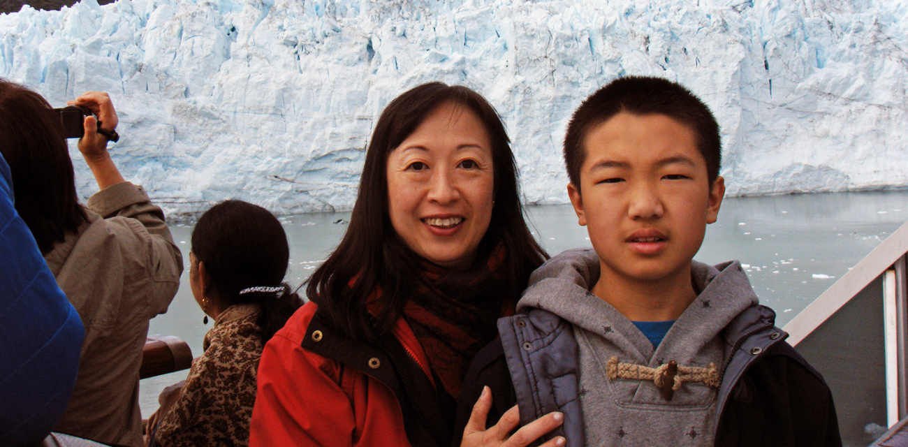Gilda and Son in Alaska