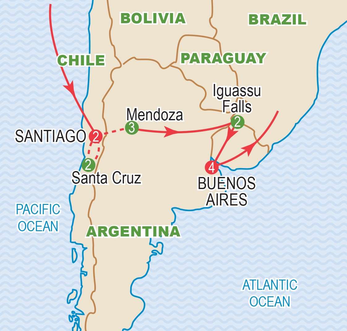 The Pions of Chile and Argentina March 2019 | Craig Travel on