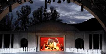 Oberammergau 2022 Passion Play Stage