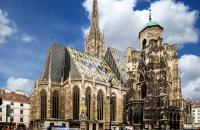 The impressive Gothic St. Stephen's Cathedral