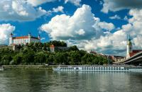 Bratislava, Slovakia is sometimes called 'beauty on the Danube' and for good reason