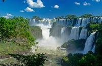 Visit one of nature's most spectacular sights, Iguassu Falls