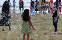Honourable mention by Wilma Yurko - Bubbles in Tanjung