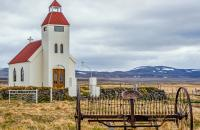 Honourable mention by Andy Sokol - Iceland Modrudalur Farm Church