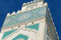 Hassan II Mosque, one of Casablanca's most iconic sites