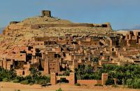 Marvel at the ancient fortified city of Ait Ben Haddou