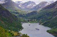 Incredible views in Norway - credit Nick Cannon