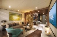 Relax in your delightful living room- Credit Princess Cruises