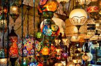 Explore the lively bazaars of Istanbul