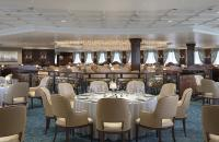 The newly rebuilt Dining Room onboard the Sirena - Photo courtesy of Oceania Cruises