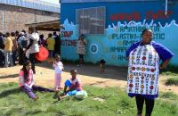A soup kitchen in South Africa