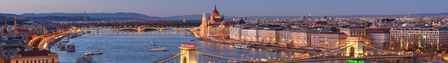 City of Budapest on the Danube River.